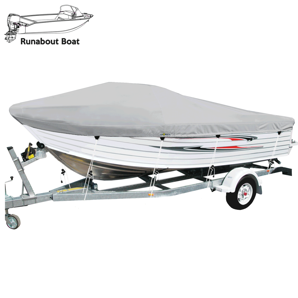 Runabout Boat Cover