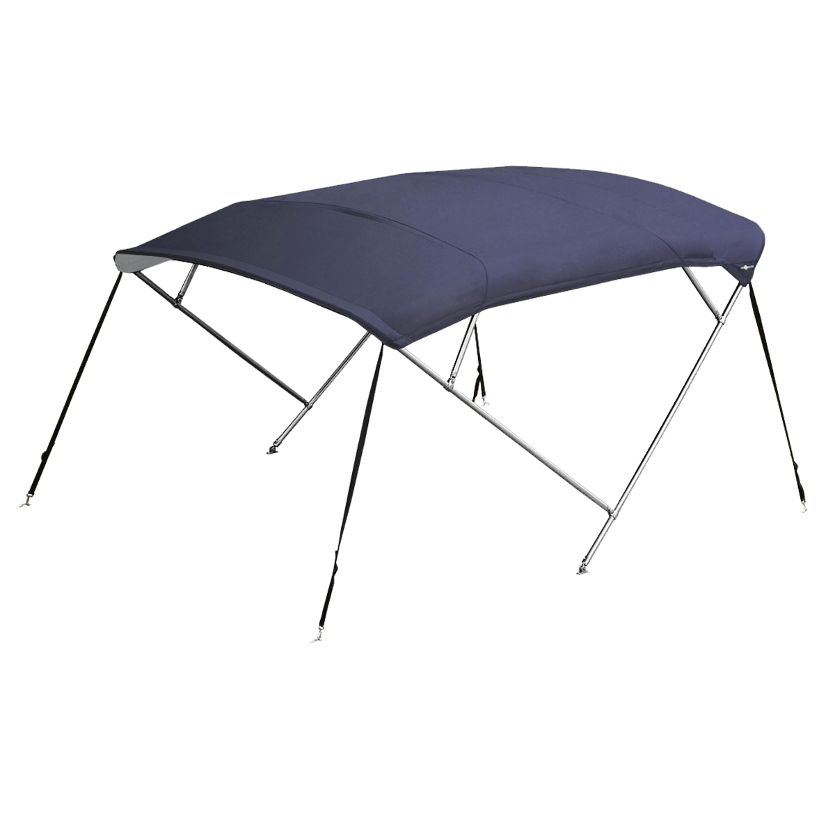 Stainless Steel 4 Bow Bimini Top Blue