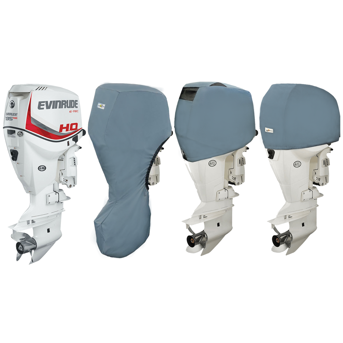 Oceansouth Covers for Evinrude Outboards