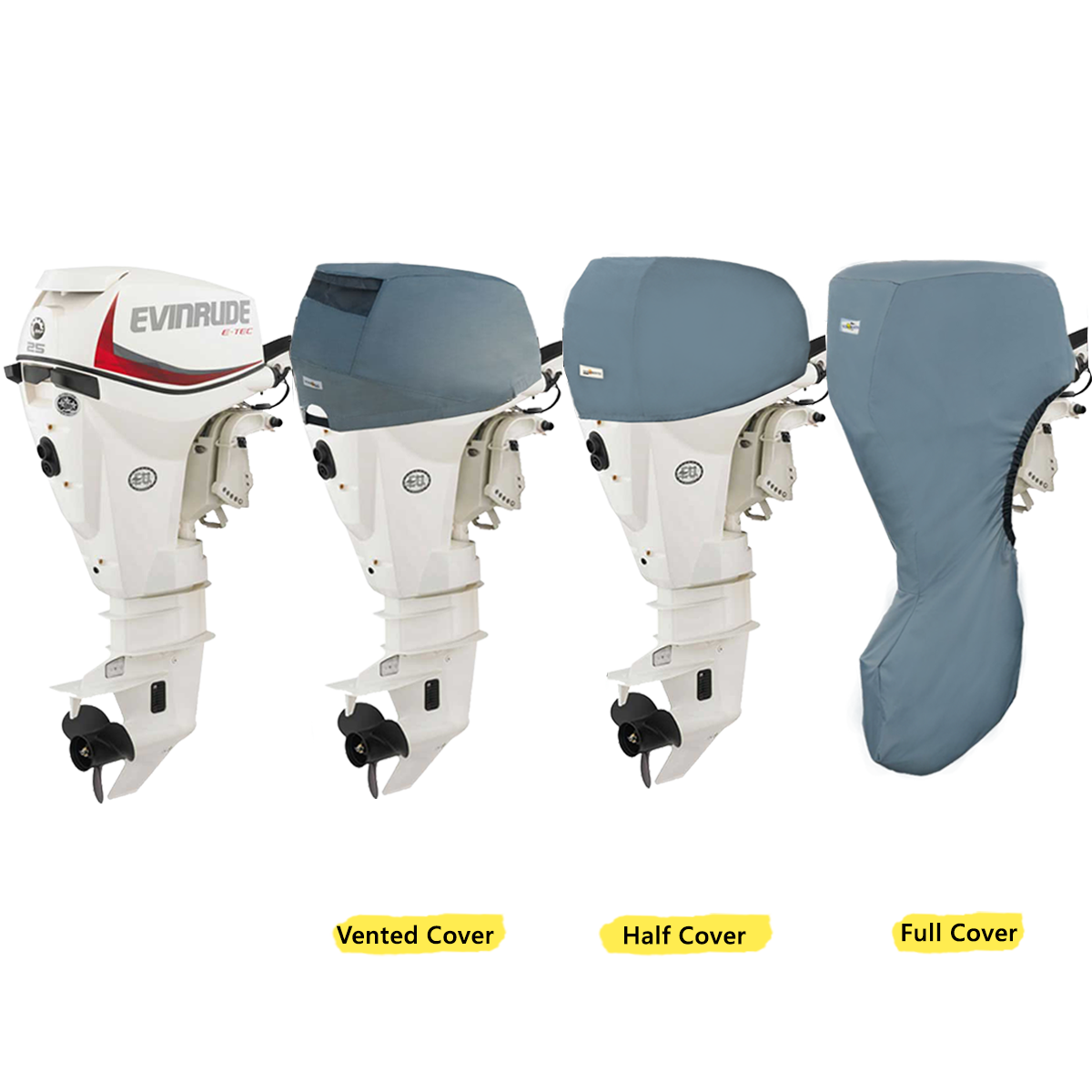 Covers for Evinrude Outboard Motors