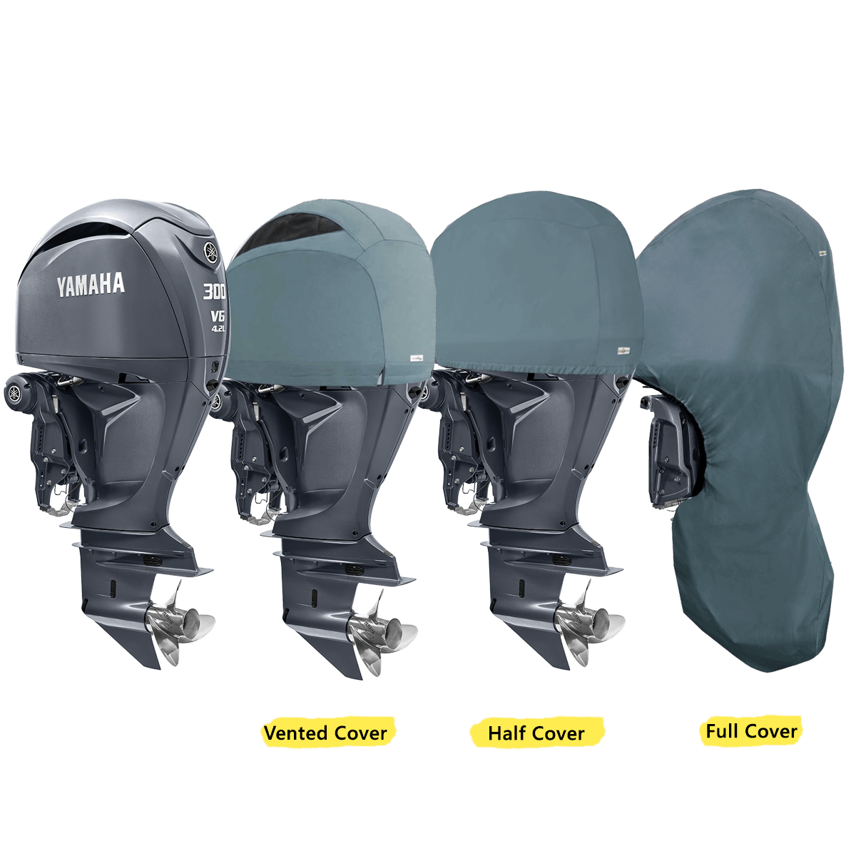 Oceansouth Covers for Yamaha Outboards